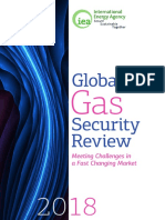 IEA GLOBAL GAS SECURITY REVIEW 2018