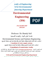 1- Env.eng.Part 1-1 Water Treatment