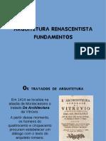 Arquitetura Renascentista_Fundamentos