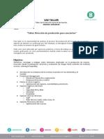 TALLER- Dirección de producción para conciertos - Manuel Gonzalez (1) (1)