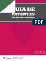 Guia de Patentes Para Investigadores