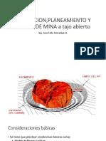 15Evaluacion Planeamiento y Diseño a Tajo Abierto