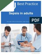 BMJ Best Practice 'Sepsis in Adult'