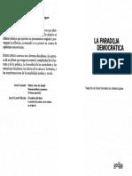 13 C. Mouffe - La Paradoja Democrática