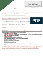 Certificat de Membru 2019