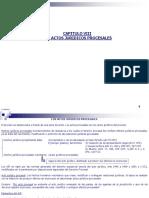 Capitulo IX Actos Juridicos Procesales