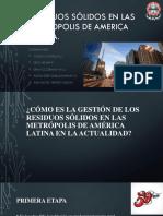Residuos Sólidos en Las Metrópolis de America Latina