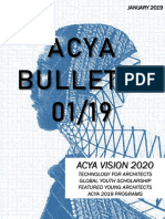 First Acya Bulletin Jan 01-2019