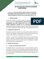 03 MEMORIA DE INST. SANITARIAS EL HUARANGO.docx