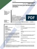 NBR 6493-1994 Emprego de Cores Para Identificacao de Tubulacoes - Copia