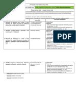 Planificación Unidad Didáctica Matemáticas 2018
