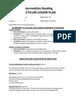 nonfiction lesson plan