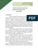 PROJETO E EDITAL DA ATIVIDADE DE EXTENSÃO UNI