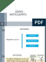 Clase 4 Antígeno-Anticuerpo SEMANA 4