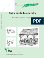 Dairy Cattle Husbandry