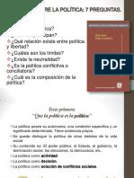 Clase 12 Tesis de Politica