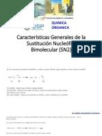 1 Clase 1 Características Generales de la Sustitución Nucleófila Bimolecular (.pdf