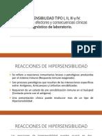 8.Hipersensibilidad Tipo i, II, III y IV