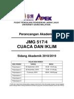 Jmg 415 - Perancangan Akademik 2018-2019