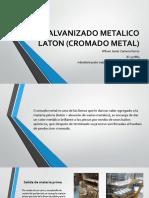 Galvanizado Metalico Laton (Cromado Metal)