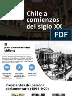Chile en 1920