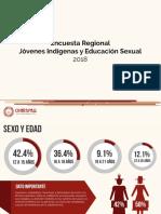 Encuesta Regional Jovenes y Educacion Sexual