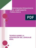 Intervención Pedagógica en El Componente Fonológico.2