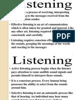 Communication Skills (Listening)