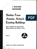 Shelter From Atomic Attack in Existing Buildings Technical Manual 1952