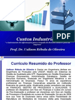 CUSTOS INDUSTRIAIS UERJ 2010.1