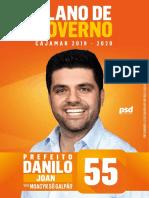 Plano de Governo Cajamar - Danilo Joan 55