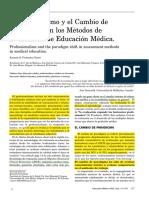 Los cambios en los metodos de evaluacion en Medicina