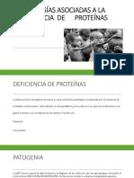 Patologías Asociadas a La Deficiencia de Proteínas 1