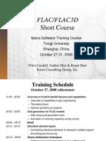 FLAC 3D Short Course