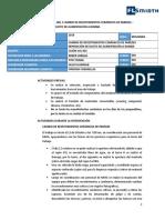 Informe Mantenimiento Cajón SUL 0001-0002