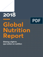2018 Global Nutrition Report