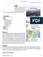 Bitterroot Range - Wikipedia
