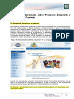 M3- Lectura 10 - Decisiones Sobre El Producto. Desarrollo y Evolución Del Producto Corregido