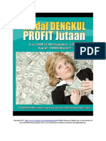 _modal Dengkul Profit Jutaan kerennns