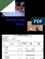 EST (4) Analisa Harga Satuan