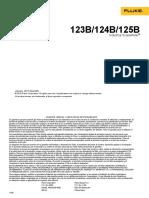 Fluke-120 Serie Manual