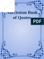 Narcissism Book of Quotes
