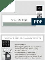 Presentasi SONOACE R7 Echo