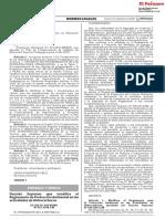 D.S. N° 023-2018 EM Modifica el Reglamento de Proteccion Ambiental para Sector Hidrocarburos