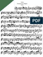 tartini violin sonata g major