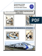 CEN02 2019 Paramedical Categories