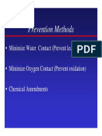Prevention Methods