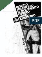 Melgar Bao - El movimiento obrero latinoamericano