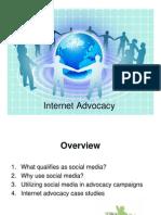 Internet Advocacy Training