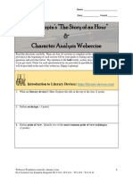 character analysis webercise